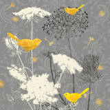 Gray Meadow Lace II Prints by Jill Meyer