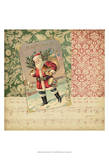 Victorian Christmas IV Print by  Vision Studio