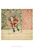 Victorian Christmas IV Print by Vision Studio