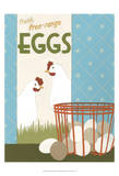 Free-Range Eggs Posters by Erica J. Vess