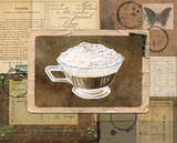 Vintage Eiskaffee Prints by Lynnea Washburn