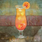 Tequila Sunrise Art by Lynnea Washburn