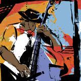 Jazz Man Posters par Cathy Johnson