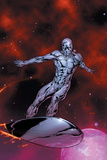 Silver Surfer No.7 Cover: Silver Surfer Posters by Gary Frank