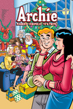 "Archie Comics Cover: Archie No.602 Archie Marries Veronica: ""It's Twins."" Photo by Stan Goldberg"