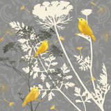 Gray Meadow Lace I Prints by Jill Meyer