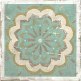 Embellished Rustic Tiles I Giclee Print by Chariklia Zarris