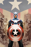Captain America #45 Cover: Captain America Psters por Steve Epting