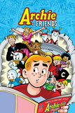Archie Comics Cover: Archie & Friends No.137 A Night At The Comic Shop Print by Fernando Ruiz