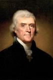 Thomas Jefferson Prints by Rembrandt Peale