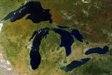 Great Lakes in North America Prints