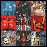 Rock n' Roll Plakat autor Aaron Christensen