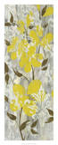Buttercups on Grey I Giclee Print by Jennifer Goldberger