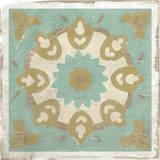 Embellished Rustic Tiles III Giclee Print by Chariklia Zarris