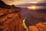 Grand Canyon set fra Toroweap Point Posters af Ron Watts