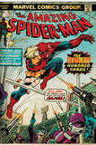 Marvel Comics Retro: The Amazing Spider-Man Comic Book Cover No.153 (aged) Print