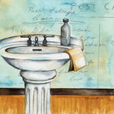 Refresh Bath Art by Donna Knold