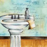 Refresh Bath Art by Donna Knold