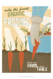 Organic Produce Kunstdrucke von Erica J. Vess
