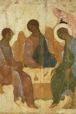 Holy Trinity Prints by Andrei Rublev