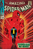 Marvel Comics Retro: The Amazing Spider-Man Comic Book Cover 50, Spider-Man No More! (aged) Prints