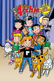 Archie Comics Cover: Archie & Friends No.154 Little Archie Pets Guest Starring Little Sabrina Print by Fernando Ruiz
