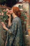 The Soul of the Rose Prints by John William Waterhouse