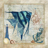 Nautical Fish I Posters by Jill Meyer