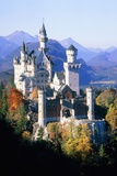 Neuschwanstein Castle in autumn, Bavaria, Germany Prints by Herbert Spichtinger