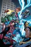 Marvel Adventures The Avengers No.31 Cover: Thor Posters by Salva Espin