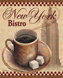 New York Bistro Prints by Todd Williams
