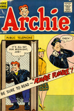 Archie Comics Retro: Archie Comic Book Cover No.108 (Aged) Print