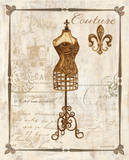 Paris Dress Form Art by Gregory Gorham