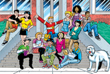 Archie And The Gang Posters af Fernando Ruiz