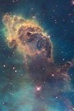 Star Birth in Carina Nebula from Hubble's Wfc3 Detector Posters