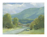 Mt. Tom View Giclee Print by Stephen Calcasola
