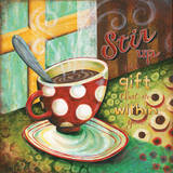 Stir Poster by Karla Dornacher