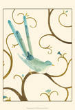 Avian Arabesque I Print by Erica J. Vess