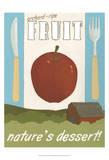 Orchard-Ripe Fruit Poster von Erica J. Vess