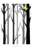 Forest Silhouette II Kunst von Erica J. Vess