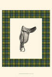 Saddle and Plaid II Posters by Vision Studio