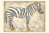 Royal Zebra Art by Chariklia Zarris