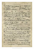 Vellum Songbook III Giclee Print