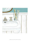 Classic Bath V Print by Chariklia Zarris