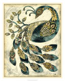 Royal Peacock II Prints by Chariklia Zarris