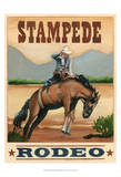 Stampede Rodeo Posters by Ethan Harper