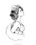 Elegant Fashion Study I Giclee Print by Ethan Harper