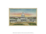 Capitol Panoramic, Washington, D.C. Prints