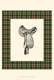 Saddle and Plaid I Prints by Vision Studio