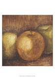 Rustic Apples I Poster by Ethan Harper